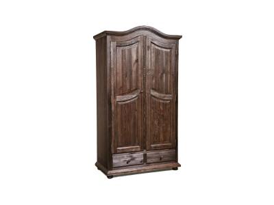 Шкаф для одежды 2д «Лотос 2190» БМ701 брашированный мокко
