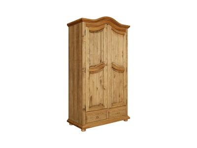 Шкаф для одежды 2д «Лотос 2190» БМ701 искусственное старение