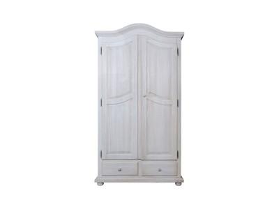 Шкаф для одежды 2д «Лотос 2190» БМ701 брашированный крем