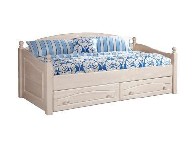 Кровать-диван «Лотос 2186» БМ701 брашированный крем