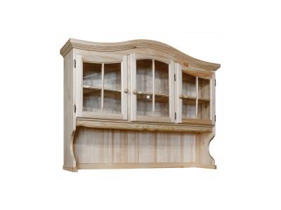 Секция - витрина 3д «Лотос 1077-01» БМ704 сосна натуральная