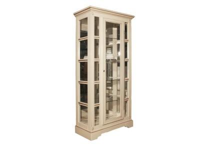 Шкаф с витриной «Полонез» ММ-174-01