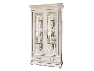 Шкаф с витриной «Оскар» ММ-210-02