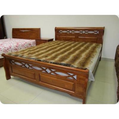 Кровать двуспальная 1.8-966-WSR-BW