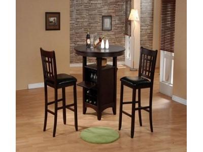 Столовая группа  стол 4242-MSDT-Н-SPB и стулья CBRA-760-APU-H