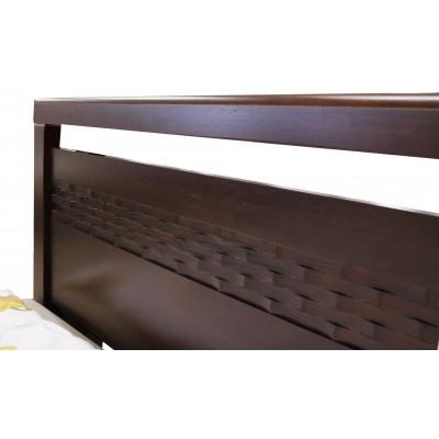 Кровать двуспальная 1.4-REDANG-WSR-BW-KD