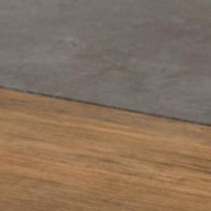 Дуб американский/серый бетон