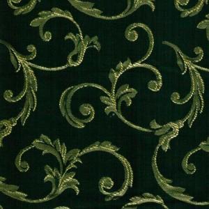 Пратто зеленый (жаккард)