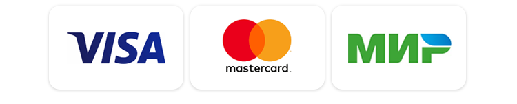фото visa, mastercard, МИР